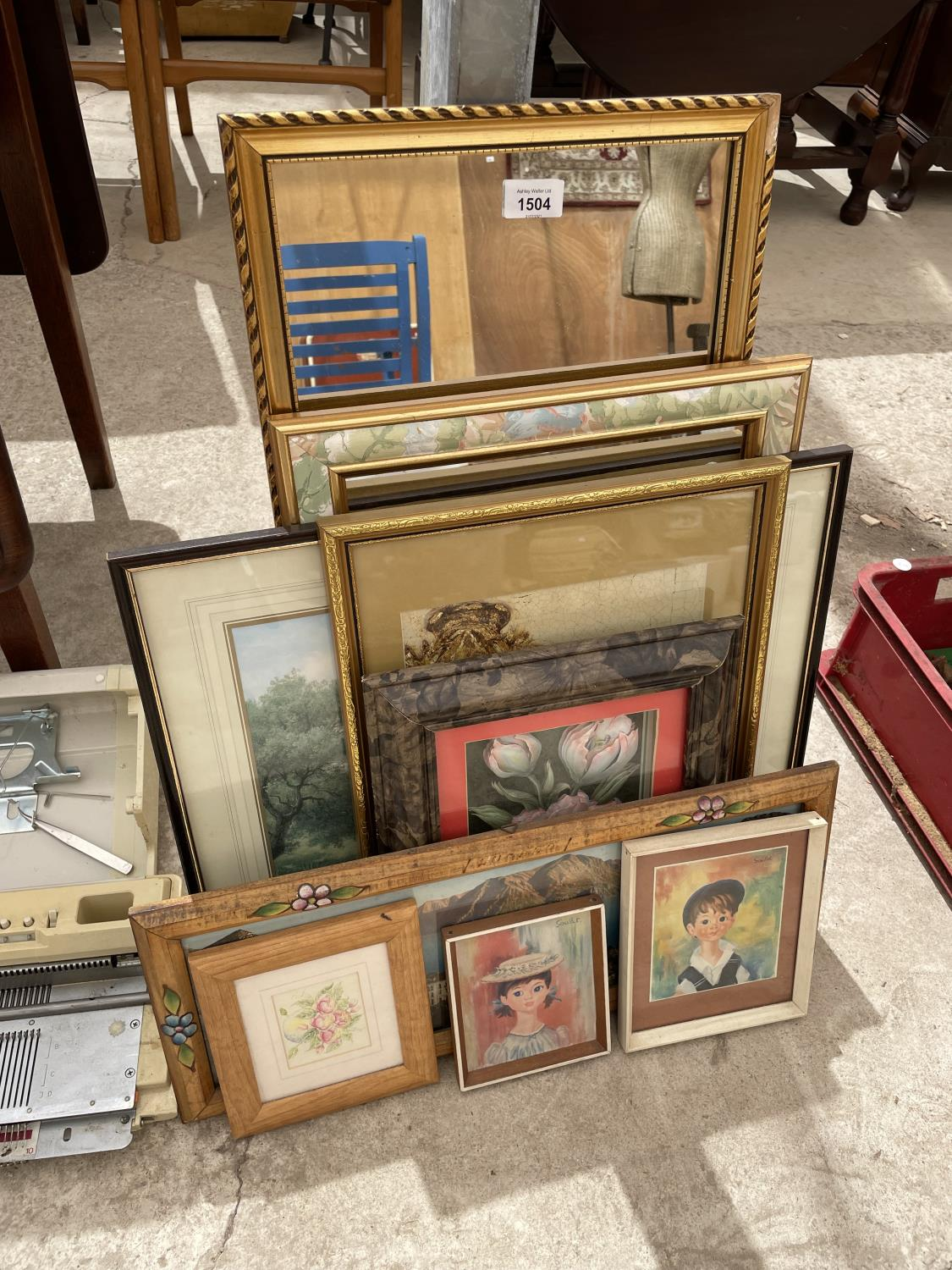 AN ASSORTMENT OF FRAMED PRINTS AND PICTURES - Image 3 of 12