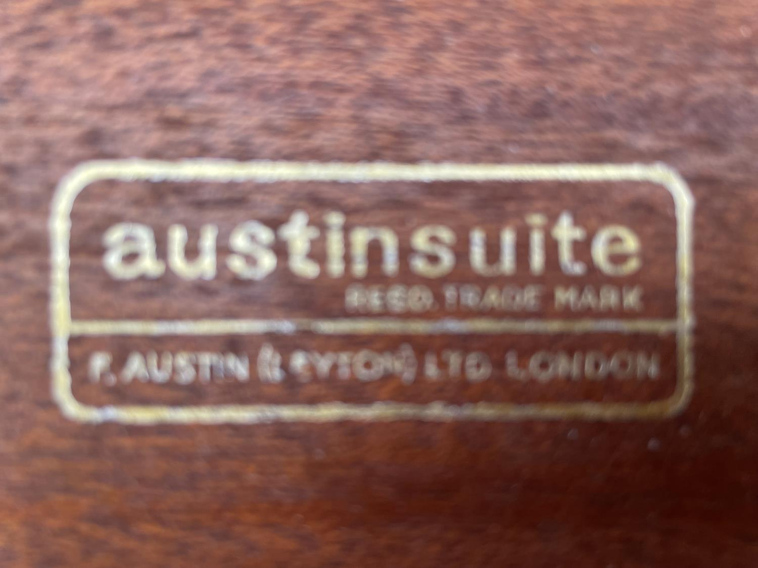 """A RETRO TEAK AUSTINSUITE CHEST OF FIVE DRAWERS, 32"""" WIDE - Image 4 of 4"""