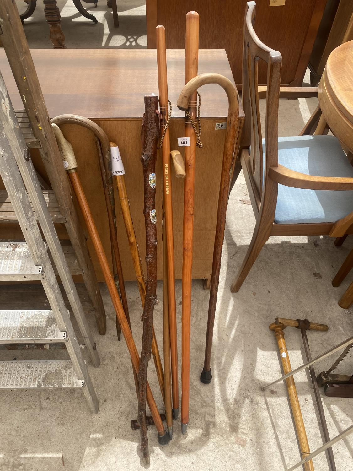 A COLLECTION OF DECORATIVE AND UNUSUAL WALKING STICKS
