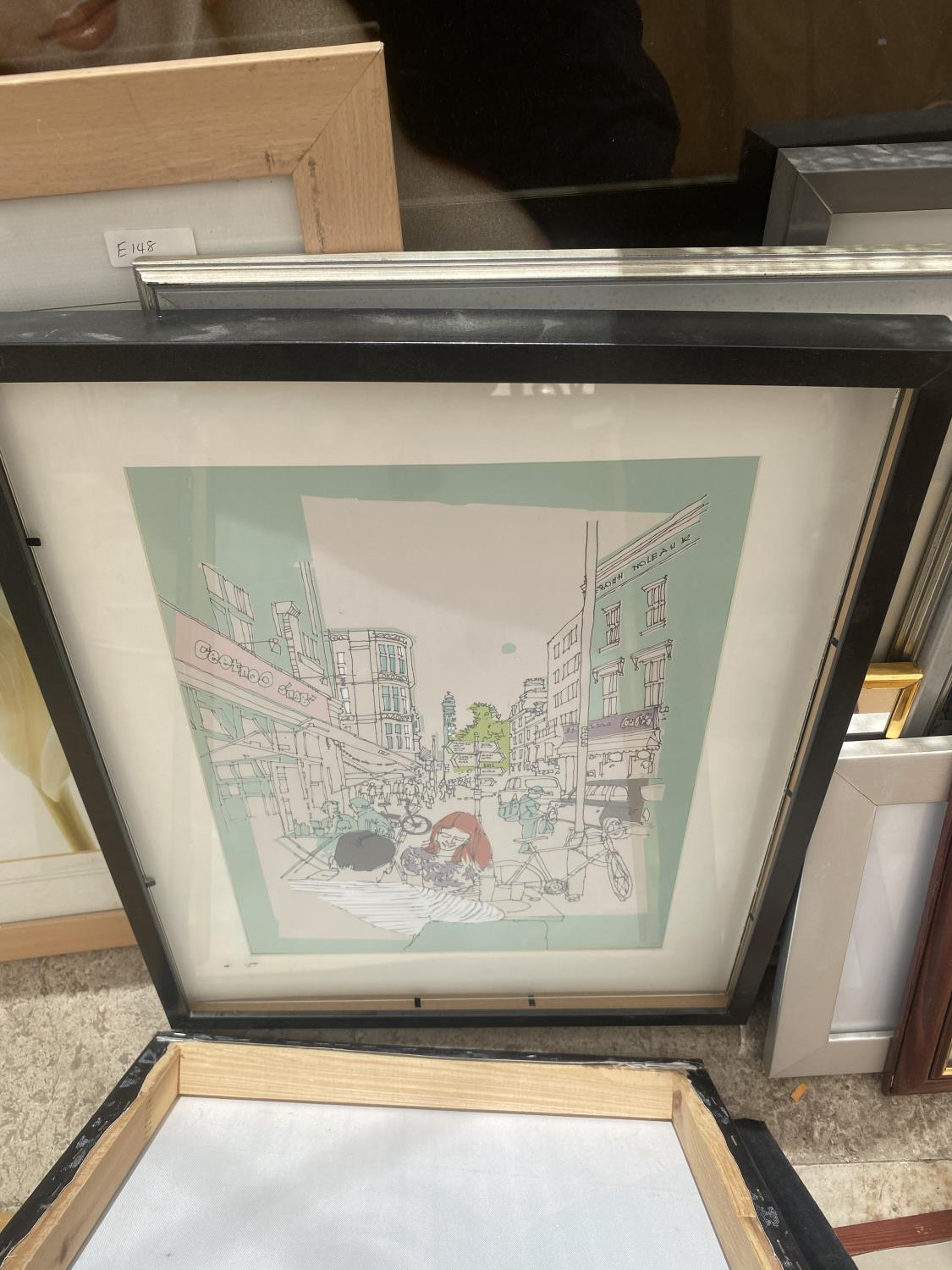 AN ASSORTMENT OF FRAMED PRINTS AND PICTURES - Image 2 of 5