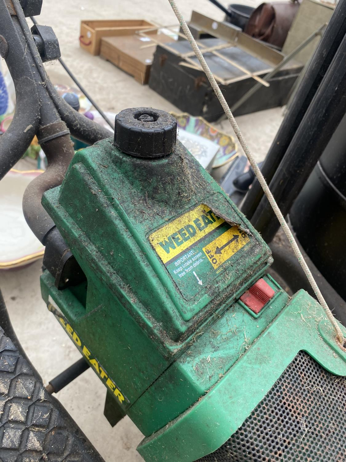 A PETROL WEED EATER - Image 4 of 5
