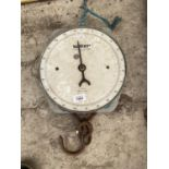 A PAIR OF VINTAGE SALTER WEIGH SCALES