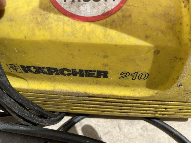 A KARCHER 210 PRESSURE WASHER - Image 4 of 4
