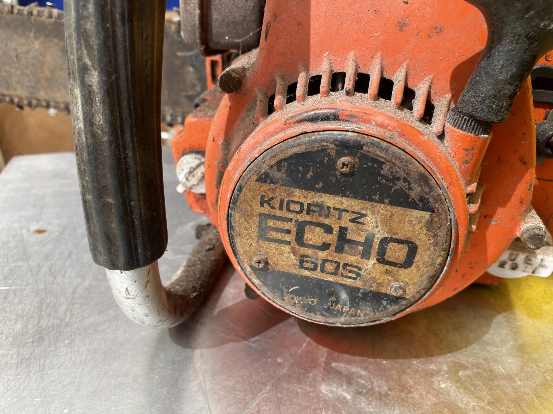 A KIORITZ ECHO 60S PETROL CHAINSAW - Image 3 of 4