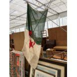 A LARGE VINTAGE PAKISTAN FLAG