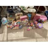 A LARGE ASSORTMENT OF CHILDRENS TOYS