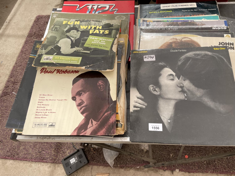 AN ASSORTMENT OF VINTAGE LP RECORDS