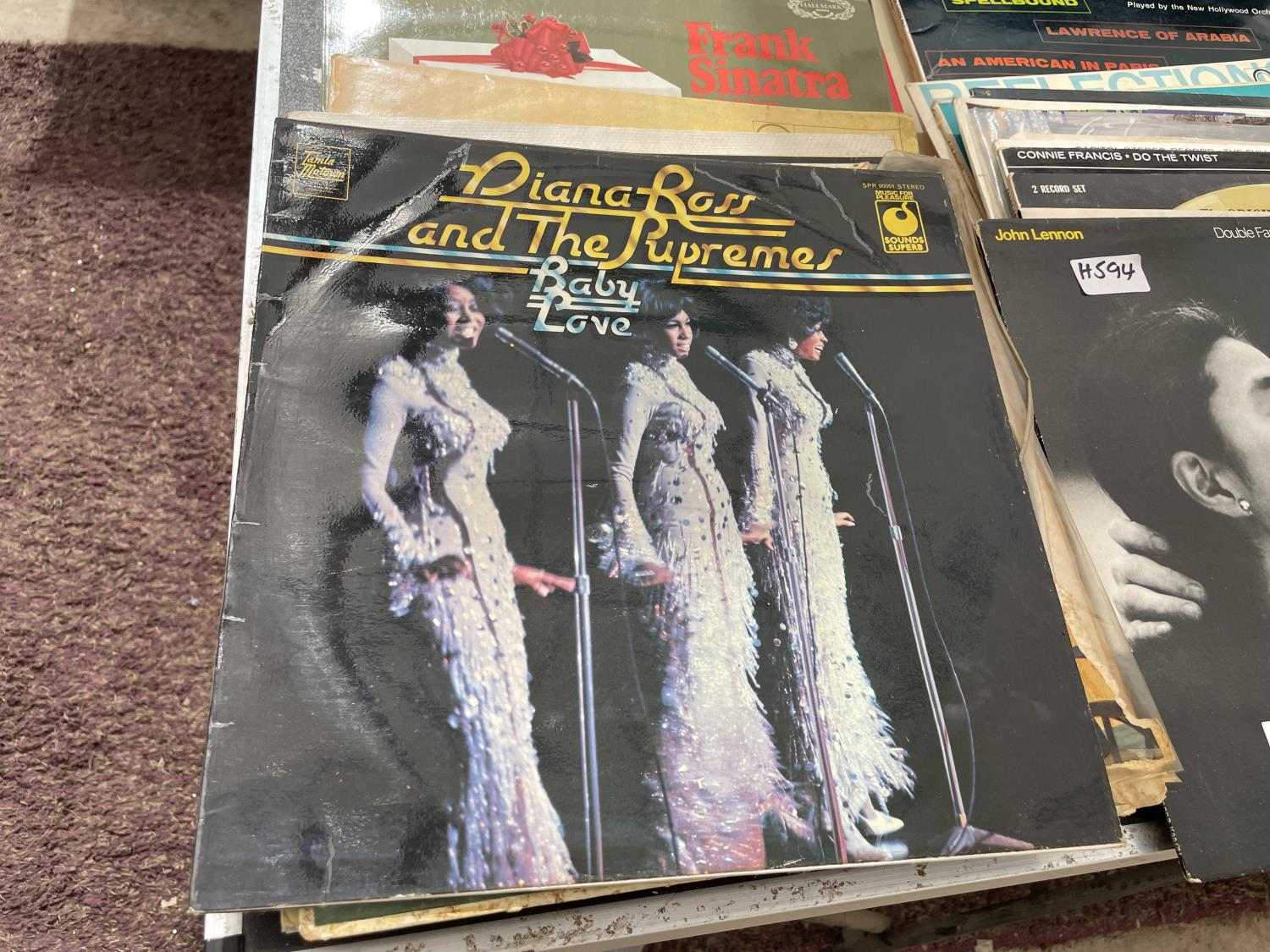 AN ASSORTMENT OF VINTAGE LP RECORDS - Image 5 of 6