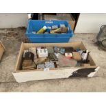 A LARGE QUANTITY OF SCREWS, NAILS AND PICTURE HOOKS ETC