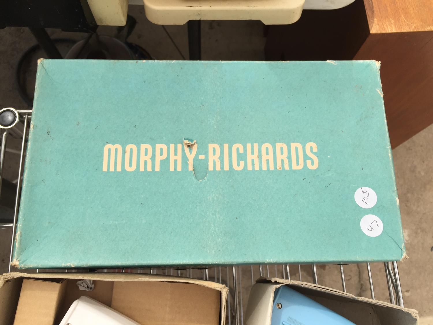 A PAIR OF VINTAGE/RETRO MORPHY RICHARDS HAIR DRYERS - Image 2 of 2