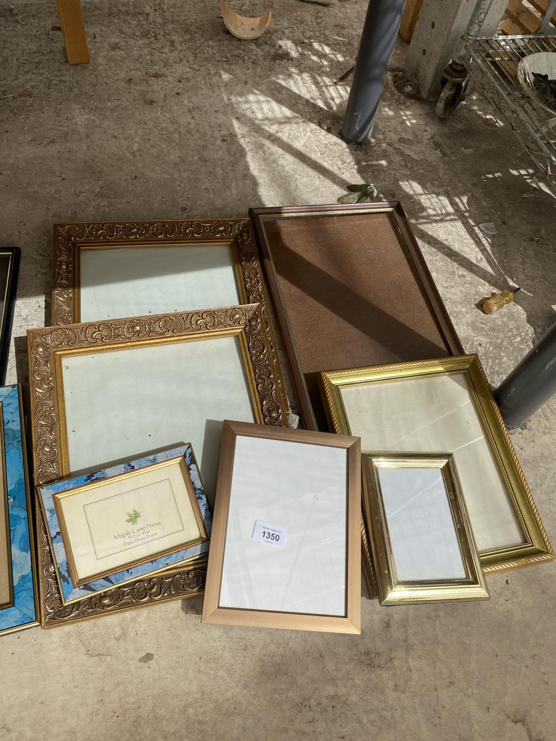A LARGE ASSORTMENT OF PICTURE FRAMES - Image 4 of 4