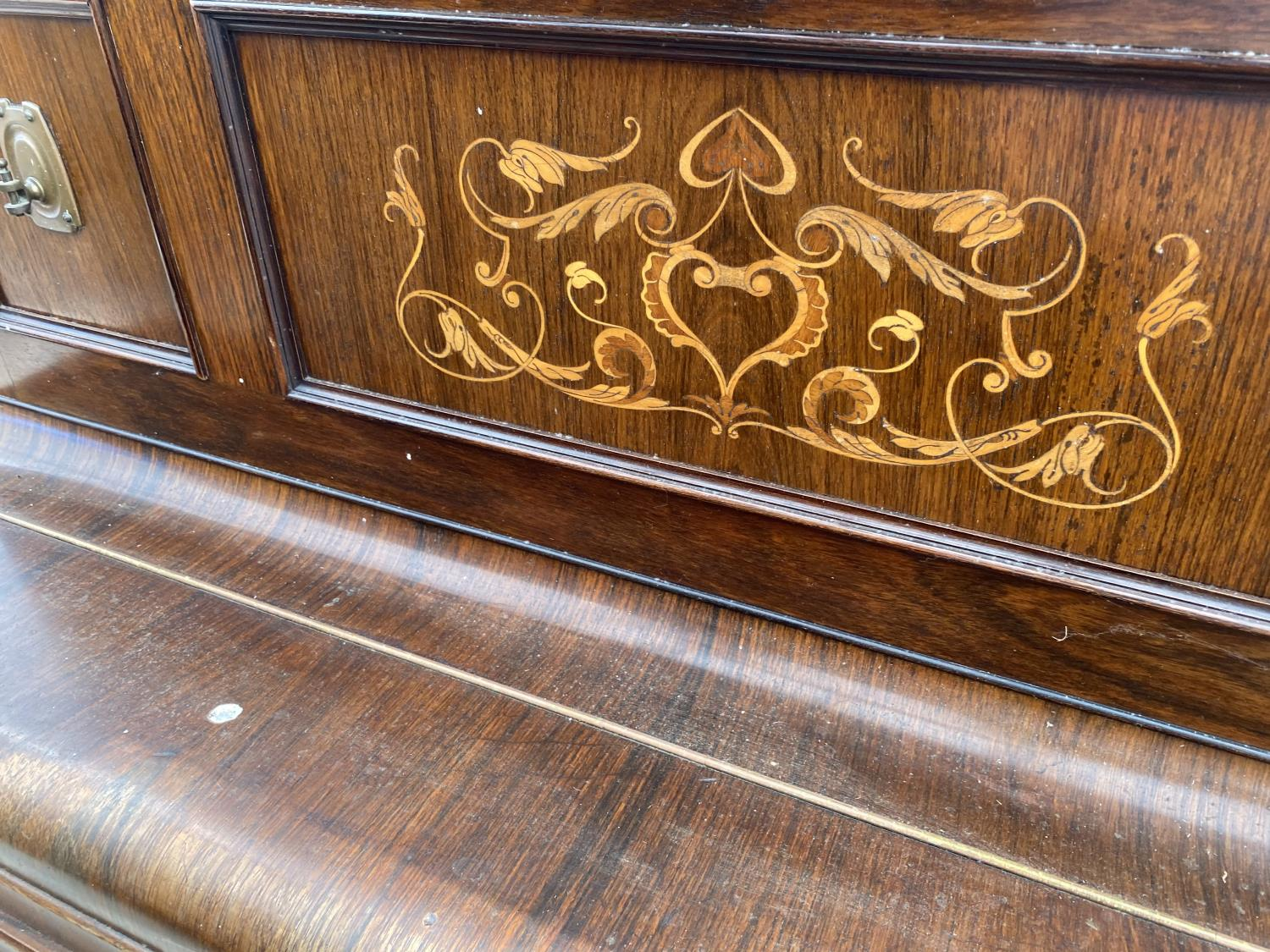 A CHAPPELL & CO LTD UPRIGHT PIANO STAMPED HARTSON & SON, NEWARK - Image 4 of 5