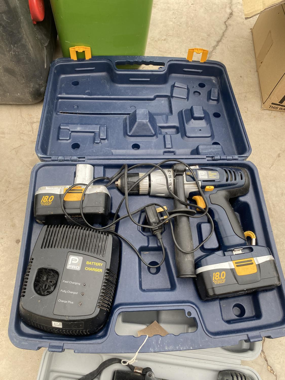 A PRO BATTERY DRILL AND A FURTHER BATTERY DRILL - Image 3 of 3