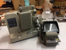 A NORRIS 8MM SYCHRONER 100 PROJECTOR AND FURTHER BOOTS CINE EDITOR