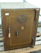MILNERS POWDER PROOF SOLID LOCK SAFE THE KEY TO BE COLLECTED FROM THE PAY OFFICE NO VAT