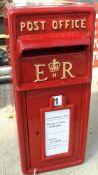 ROYAL MAIL FULL SIZED POST BOX NO VAT
