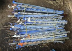 APPROX. 50 PLASTIC ELECTRIC FENCE POSTS + VAT