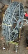 REEL OF ELECTRIC FENCE WIRE + VAT