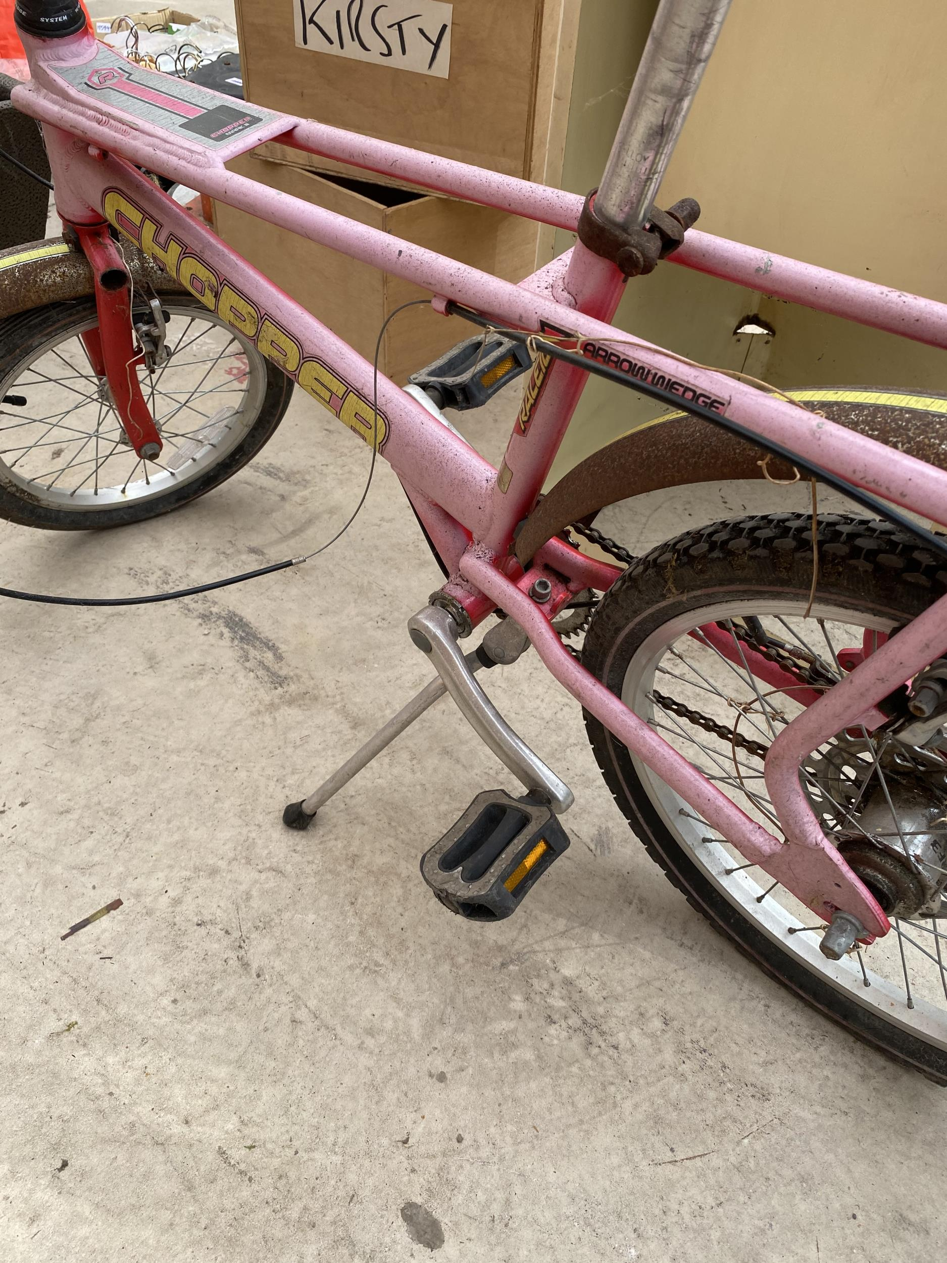 A RALEIGH CHOPPER MARK 3 BICYCLE - Image 6 of 7