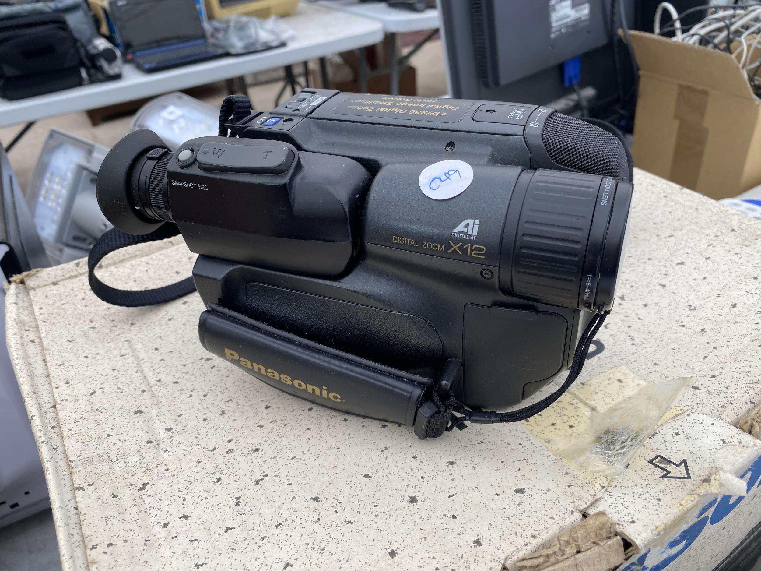 A PANASONIC CAMCORDER AND AN ELECTRIC SHOWER UNIT - Image 2 of 4