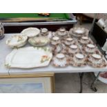 AN ASSORTMENT OF CERAMIC WARE TO INCLUDE ROYAL ALBION TRIOS ETC