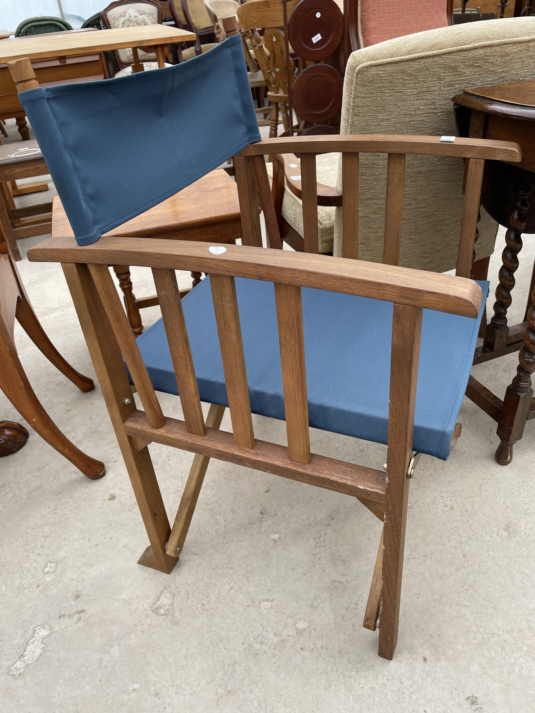 A ROYALCRAFT DIRECTORS STYLE CHAIR - Image 2 of 2