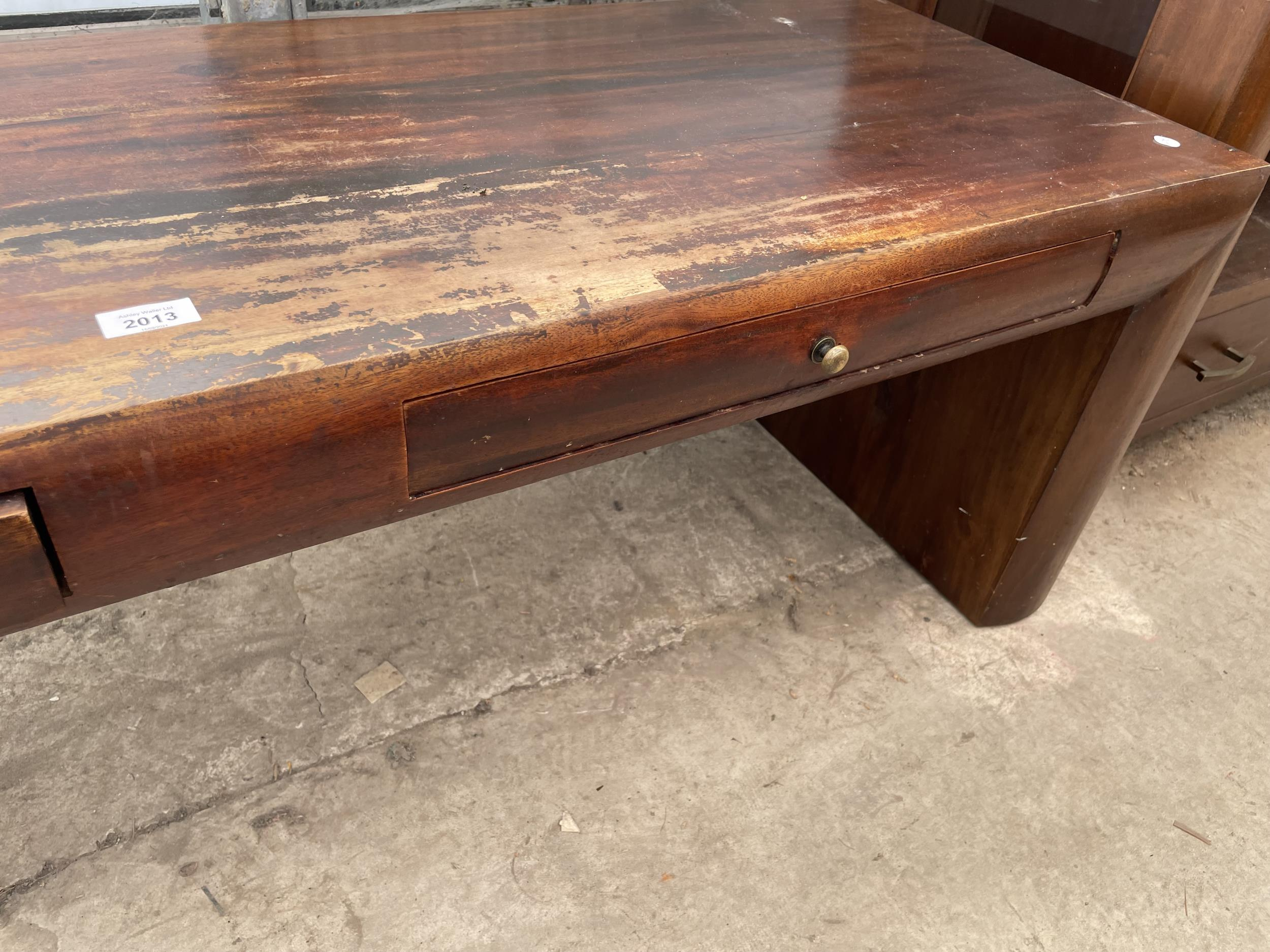 """AN OCEANS APART COFFEE TABLE, 59 X 19"""" - Image 4 of 4"""