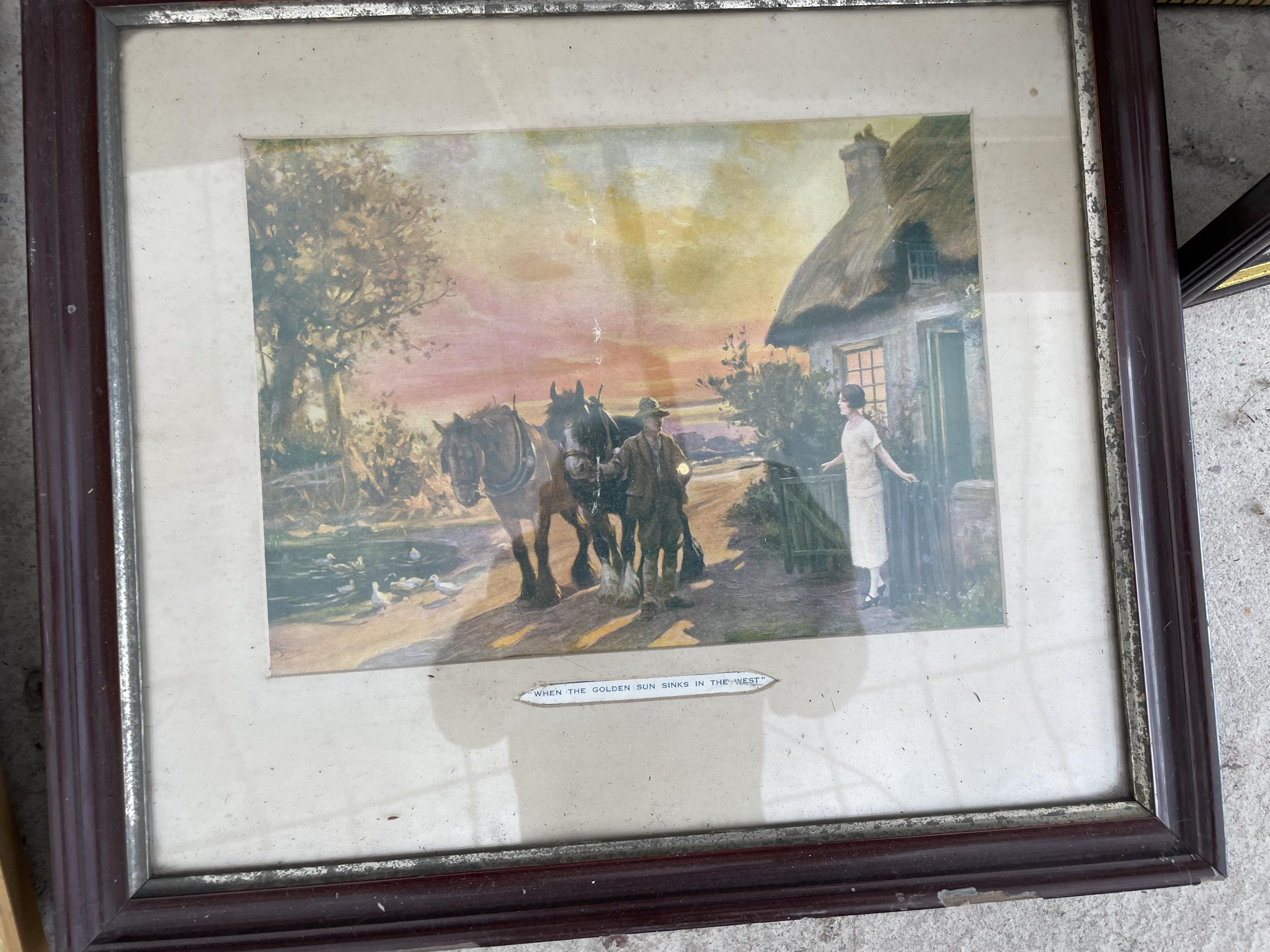 AN ASSORTMENT OF FRAMED PRINTS AND PICTURES - Image 3 of 3