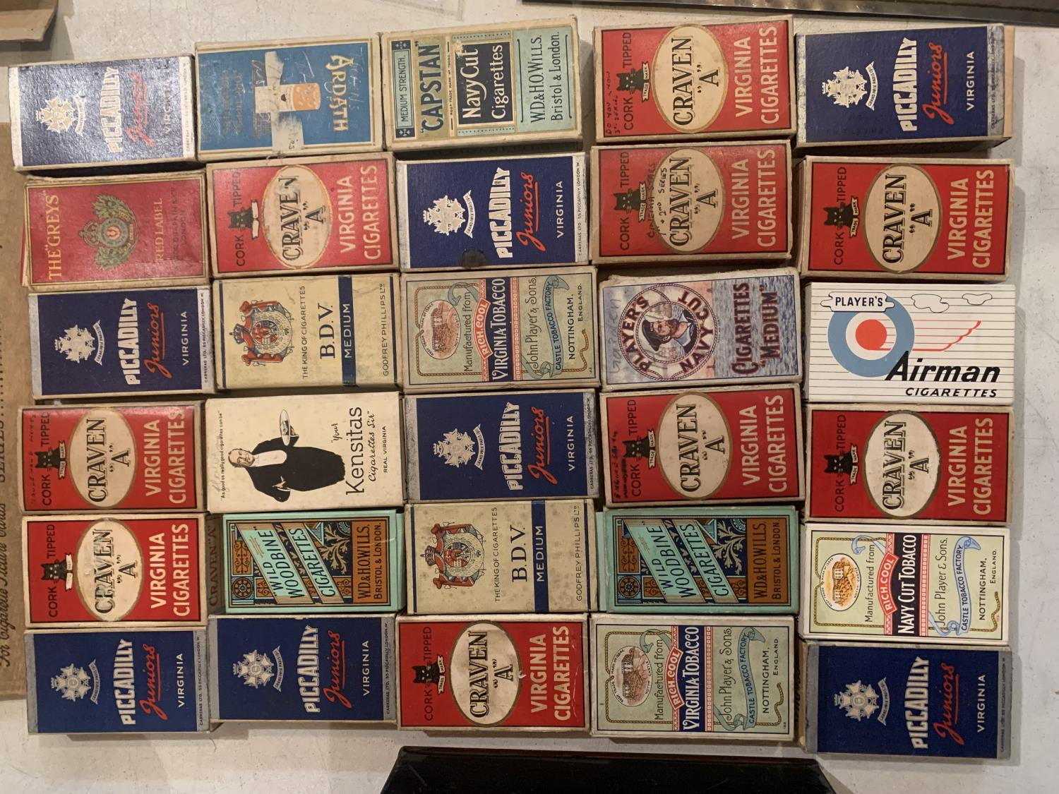 A LARGE QUANTITY OF EPHEMERA TO INCLUDE A DENNIS LAW TESTOMNIAL PROGRAMME, VINTAGE CIGARETTE - Image 3 of 10