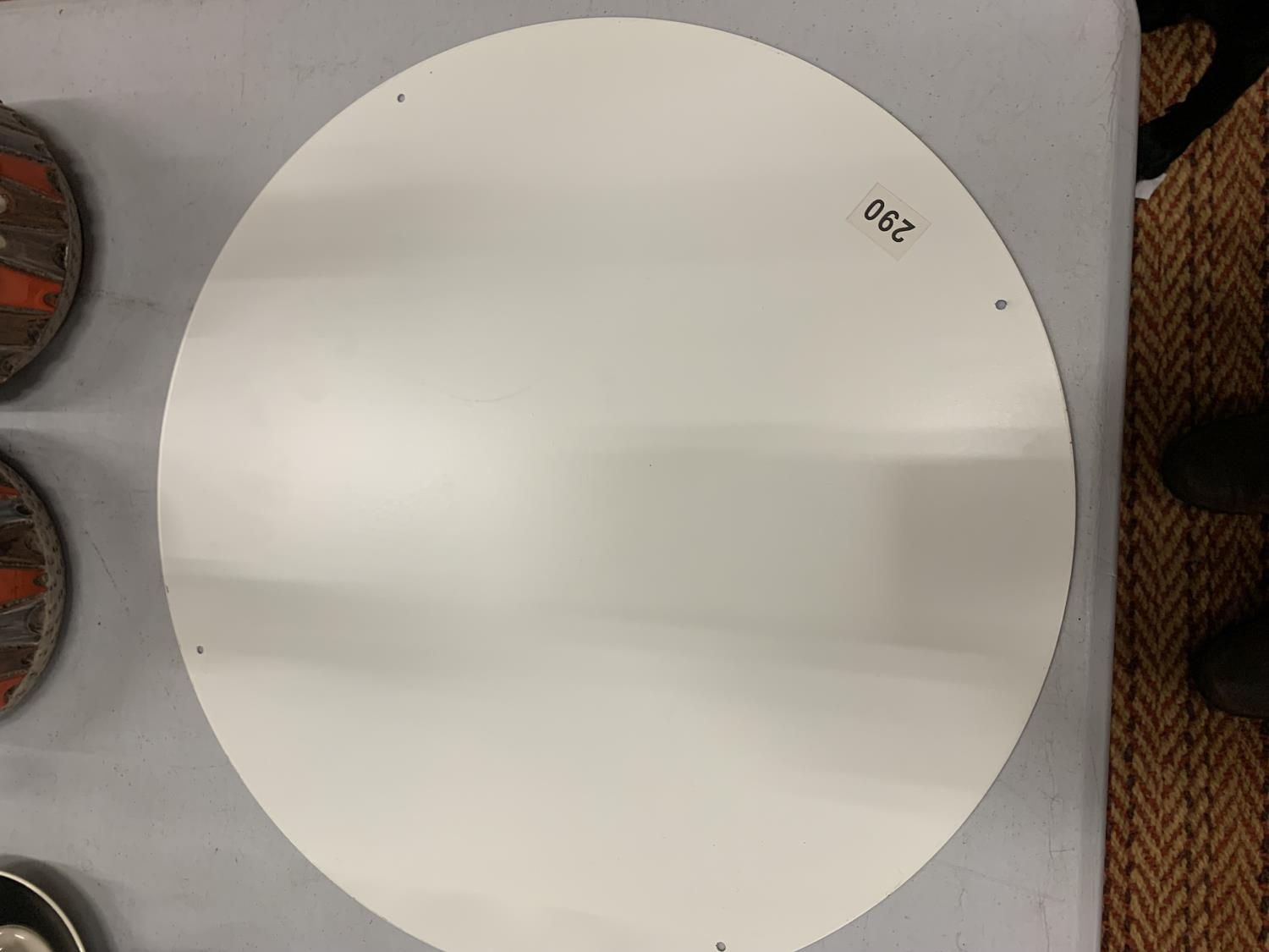 A LARGE CIRCULAR PLAYERS PLEASE SIGN 45CM DIAMETER - Image 2 of 2
