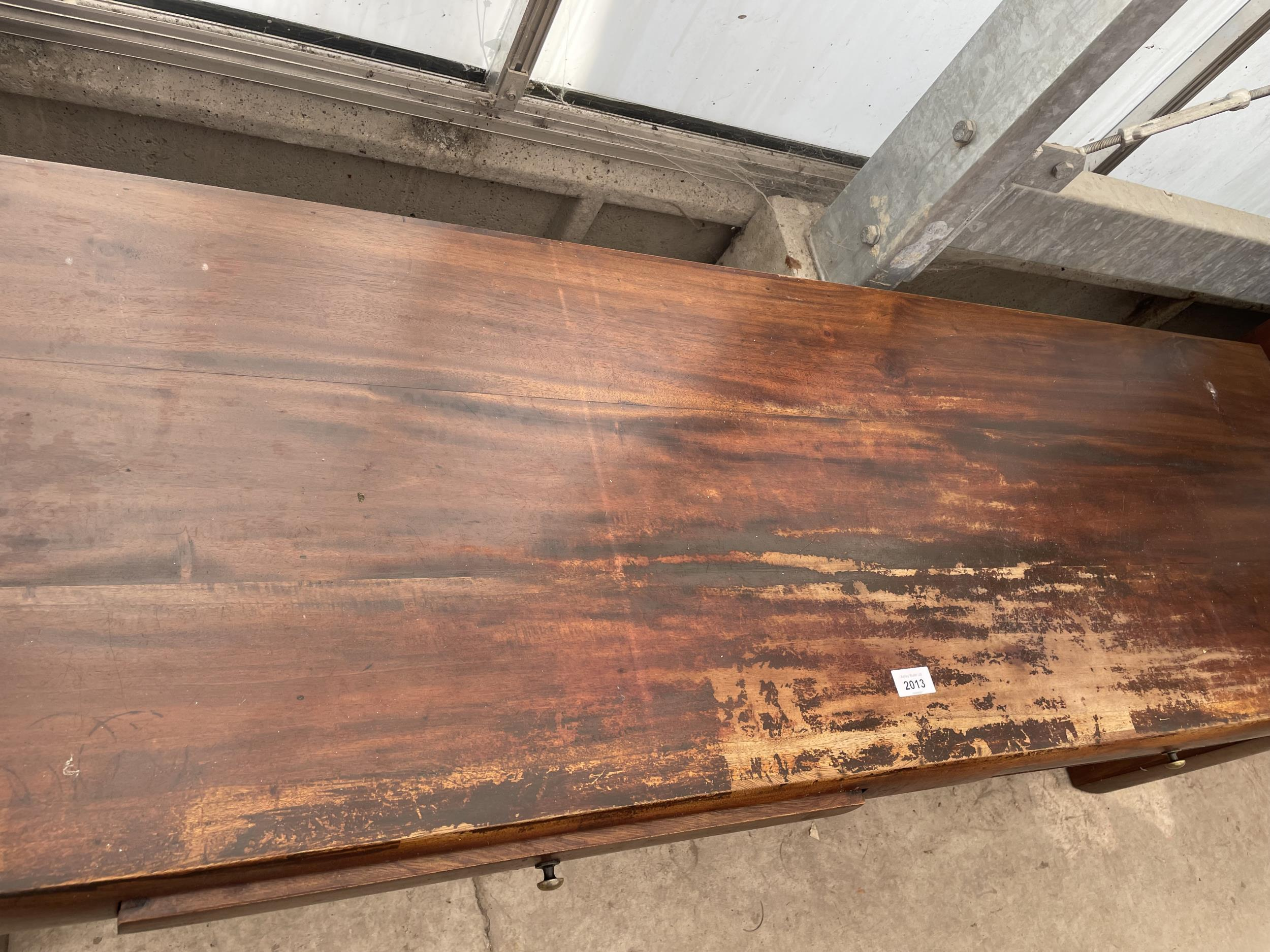 """AN OCEANS APART COFFEE TABLE, 59 X 19"""" - Image 2 of 4"""