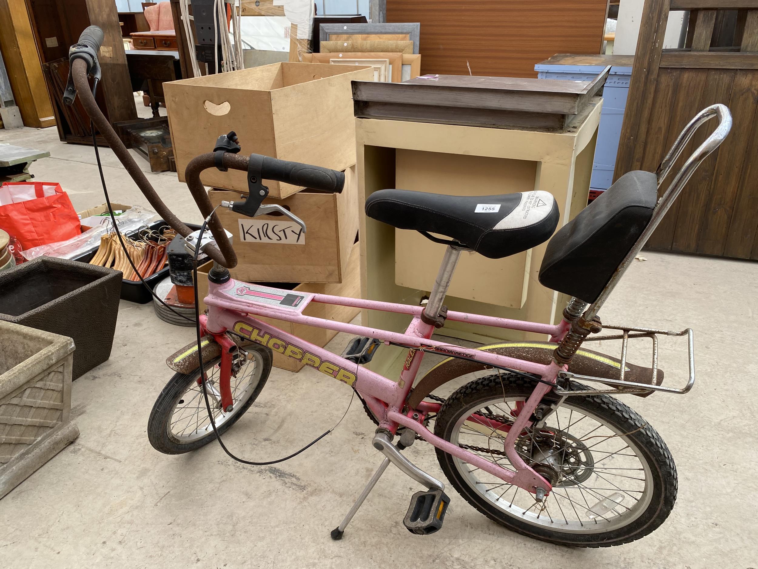 A RALEIGH CHOPPER MARK 3 BICYCLE
