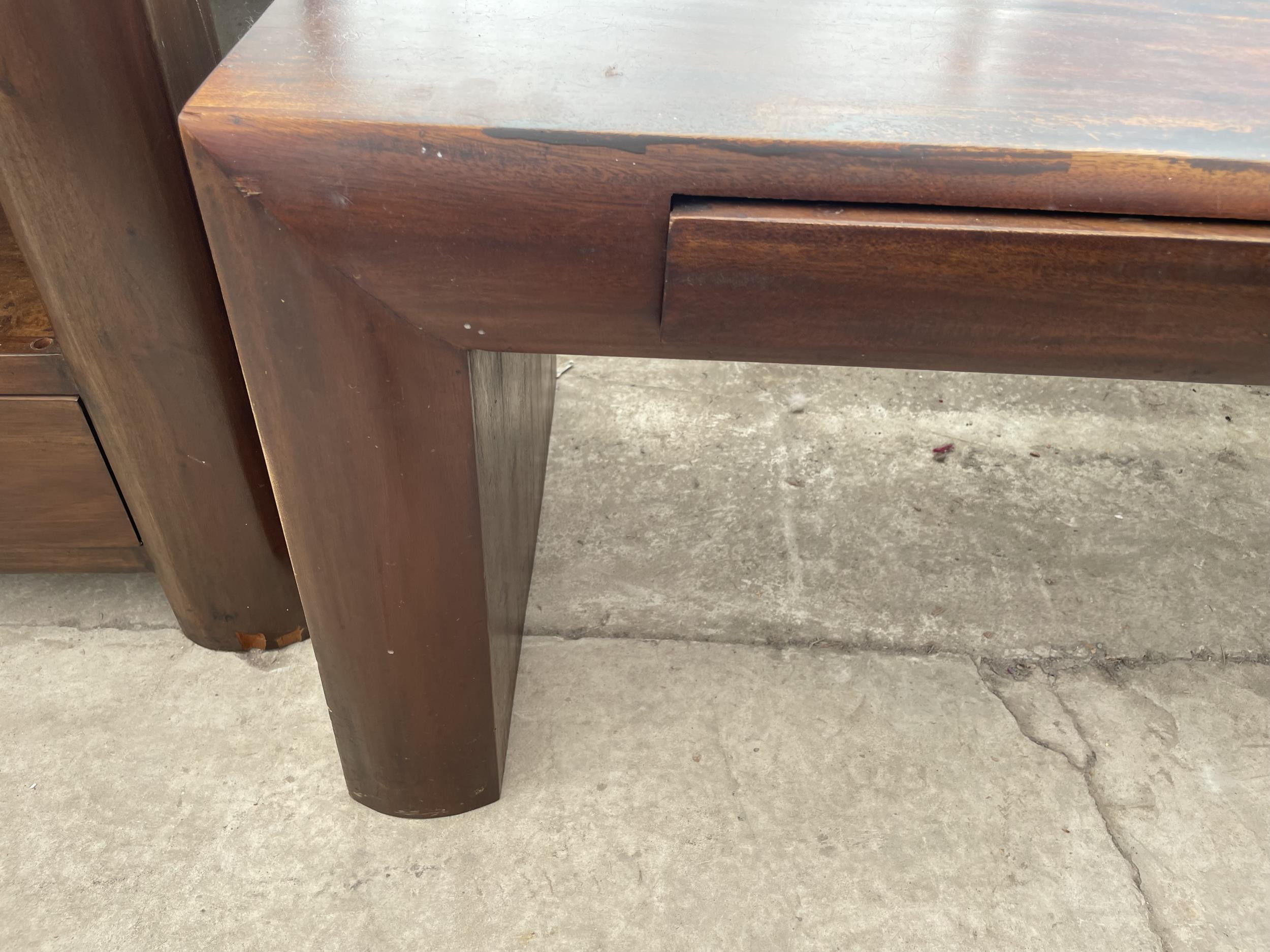 """AN OCEANS APART COFFEE TABLE, 59 X 19"""" - Image 3 of 4"""
