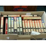 A COLLECTION OF REEL TO REEL TAPES