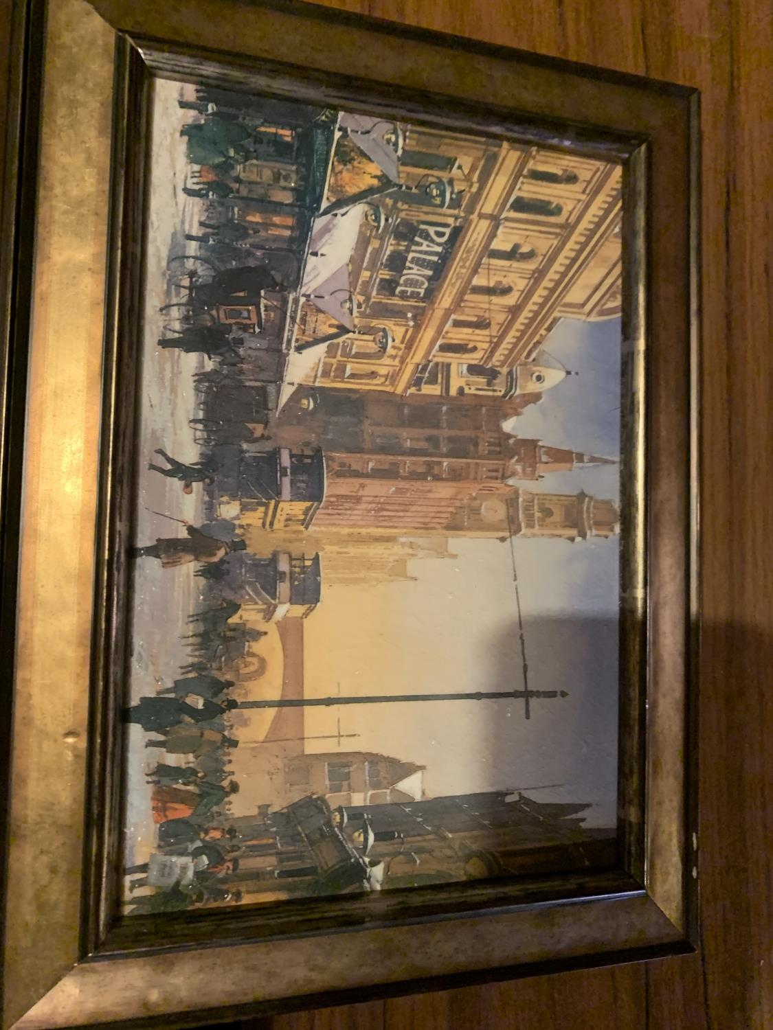 THREE FRAMED PRINTS OF CITY SCENES - Image 3 of 8