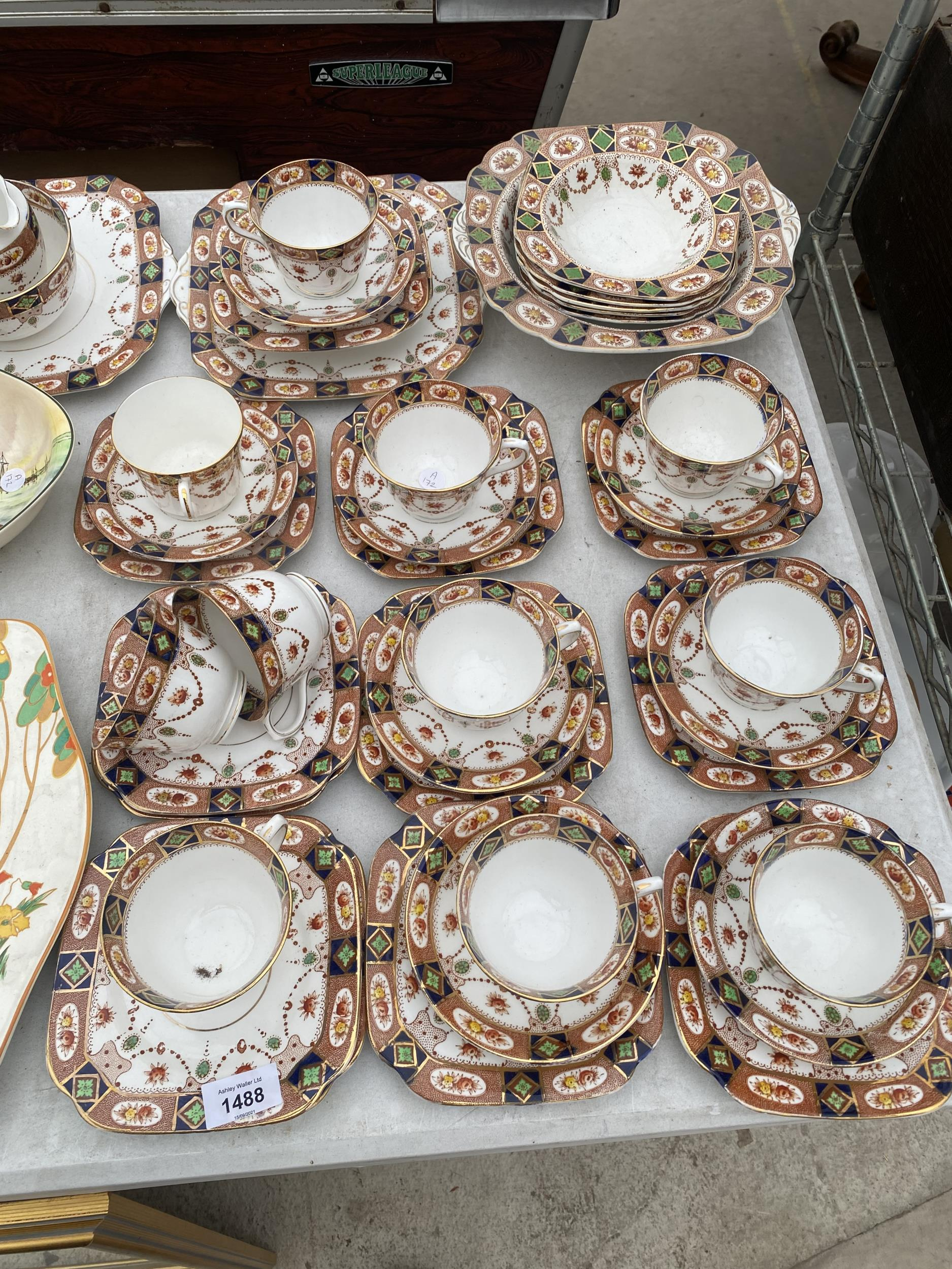 AN ASSORTMENT OF CERAMIC WARE TO INCLUDE ROYAL ALBION TRIOS ETC - Image 2 of 5