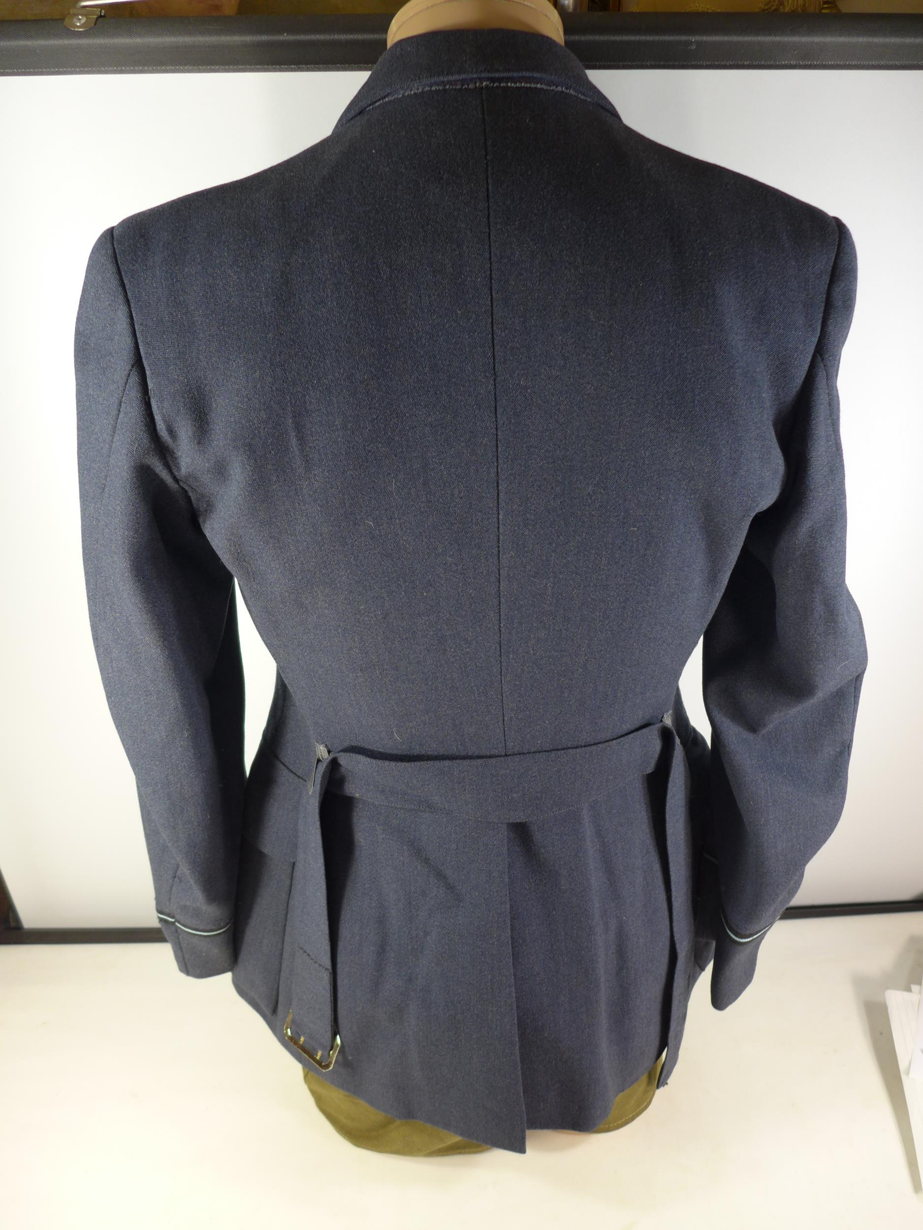 A RAF UNIFORM COMPRISING OF JACKET, TROUSERS AND BERET, SIZE 7 1/2 - Image 3 of 3