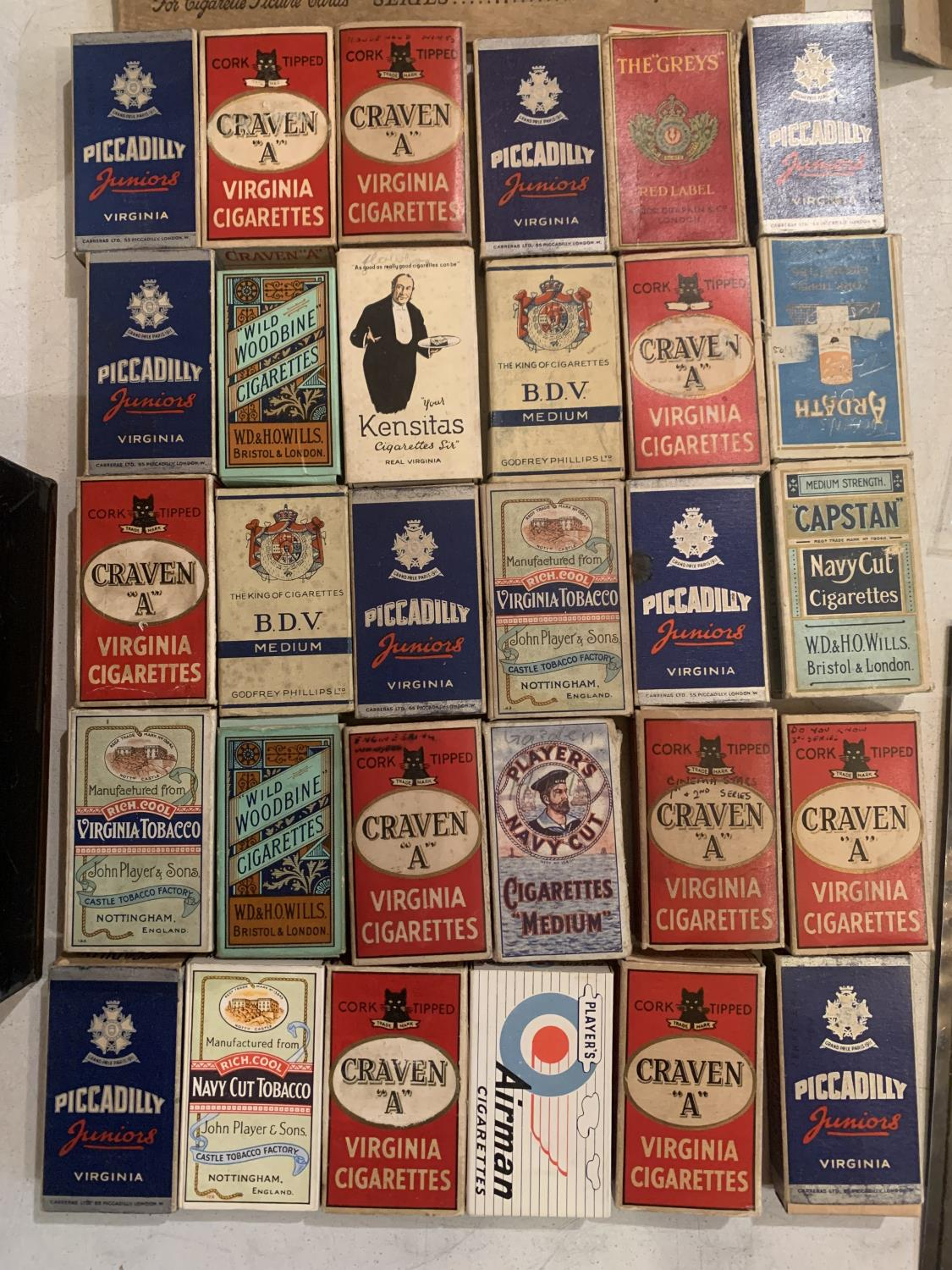 A LARGE QUANTITY OF EPHEMERA TO INCLUDE A DENNIS LAW TESTOMNIAL PROGRAMME, VINTAGE CIGARETTE - Image 4 of 10