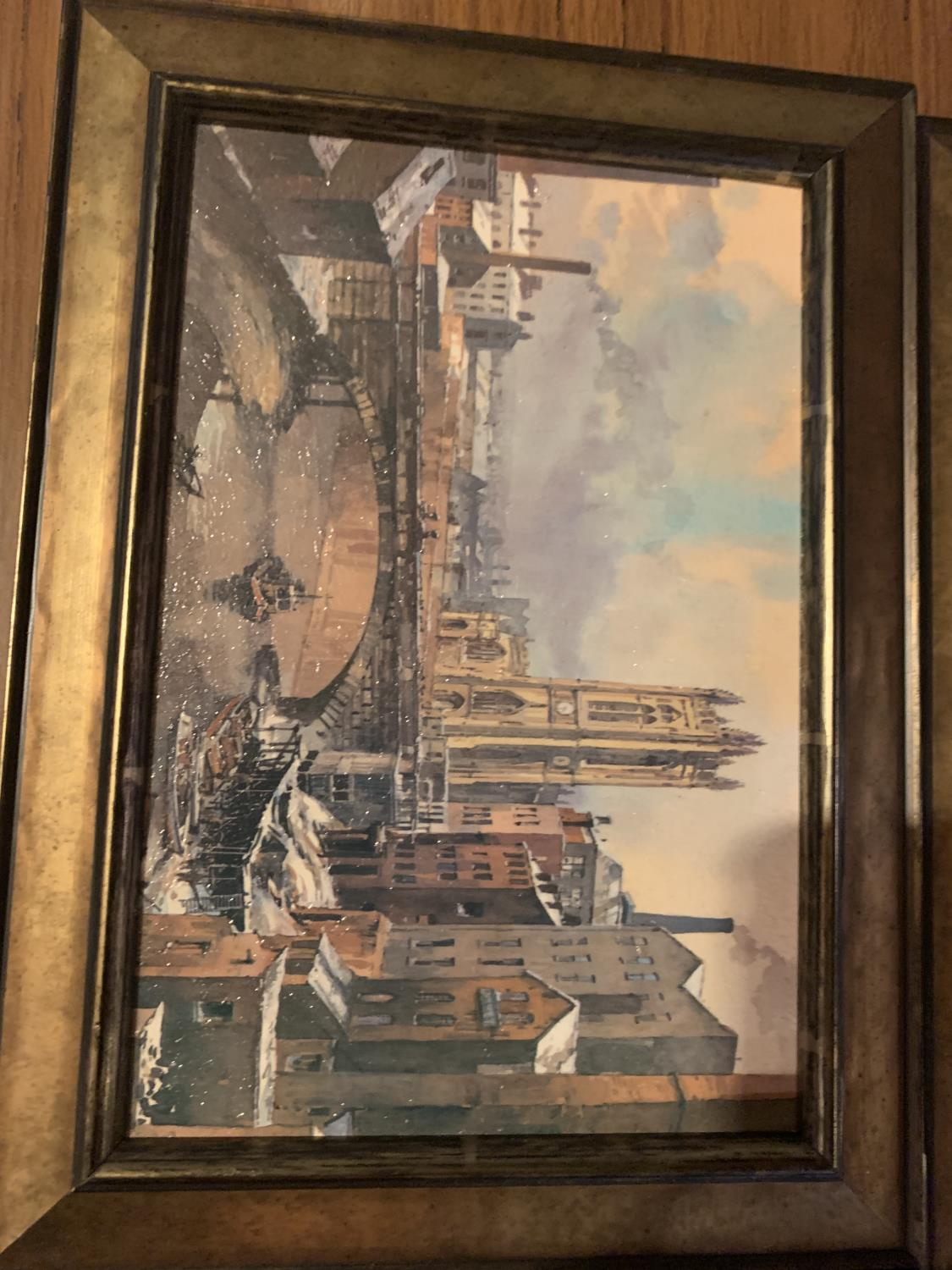 THREE FRAMED PRINTS OF CITY SCENES - Image 5 of 8