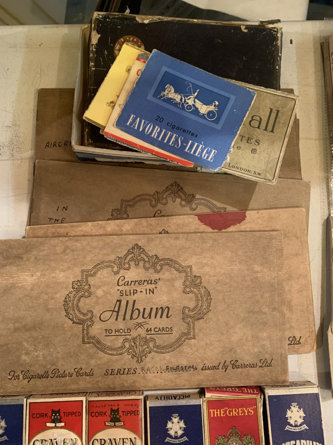 A LARGE QUANTITY OF EPHEMERA TO INCLUDE A DENNIS LAW TESTOMNIAL PROGRAMME, VINTAGE CIGARETTE - Image 10 of 10
