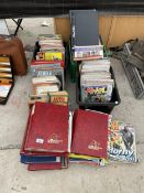 AN ASSORTMENT OF VINTAGE BOOKS AND COMICS