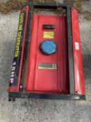 A 15 HP AIR COOLED GENERATOR + VAT