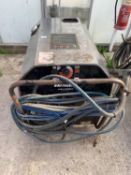 A BRITCLEAN INDUSTRIAL HOT/COLD WATER PRESSURE WASHER BEEN REFURBISED NO VAT