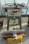 NU TOOL HS1 500 TABLE SAW & PERFORM PLANER NO VAT