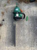 A HAWKSMOOR 47912 /CS5300-3 PETROL CHAIN SAW - NO VAT