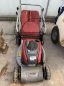 A MOUNTFIELD SP53H LAWNMOWER WITH A HONDA GCV 160 OHC ENGINE AND GRASS BOX - NO VAT