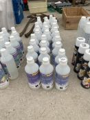 A COLLECTION OF 28 BOTTLES OF SNOW FLUID
