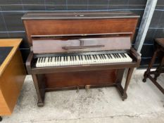 AN OVERSTRUNG PIANO (HICKIE & HICKIE LTD, GLOVES)