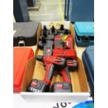 Milwaukee Cordless Drills, Chargers, Dewalt Chargers