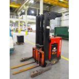 Raymond Model 2OI-R4OTT 4,000lb Capacity Stand Up Type Electric Forklift